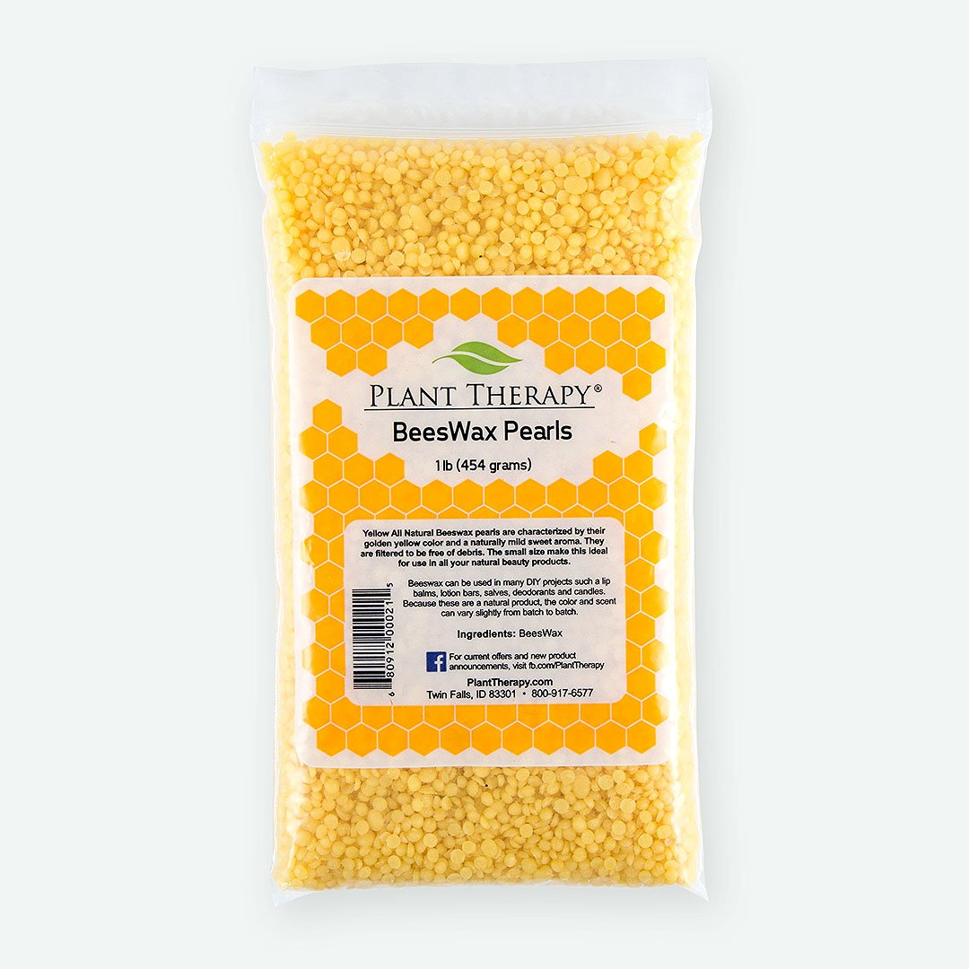Amazon.com : Plant Therapy Beeswax Pearls- Yellow. All Natural. 1 ...