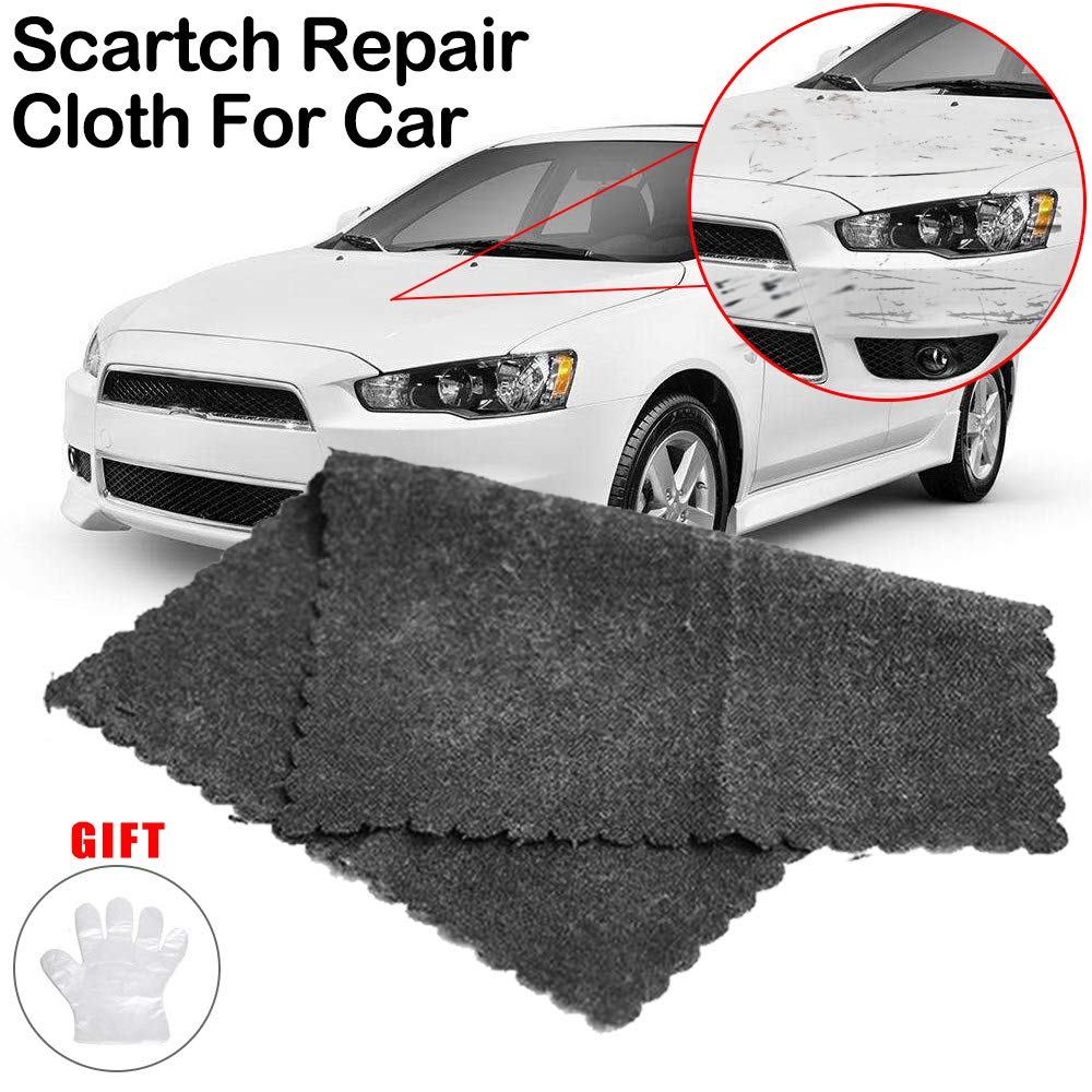 Car Scratch Remover Tools with Clear Instructions and Gloves for Car Paint Scratch Repair Vehicles Small Scratches GLISTON Multipurpose Scratch Remover Cloth