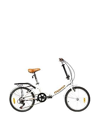 Moma Bikes Bicicleta First Class Blanco Única