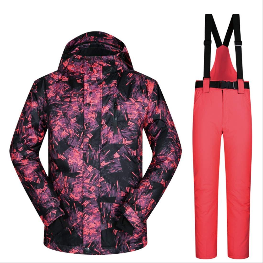 Cvthfyky Snowsuit da Uomo Winter Giacca Giacca Giacca da Sci e Pantaloni per la Neve da Pioggia Outdoor Hiking (Coloree   06, Dimensione   XXXL)B07M9W8FYLM 01 | prezzo di vendita  | lusso  | Intelligente e pratico  | Lavorazione perfetta  | Caratteristico  | Promo 8f50e0