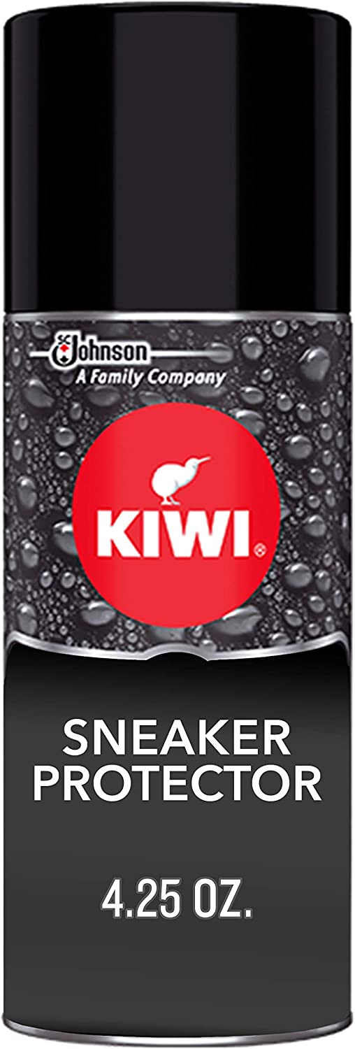 KIWI Sneaker and Shoe Waterproofer | For Shoes, Sneakers, Leather and More | Spray Bottle | 4.25 Oz