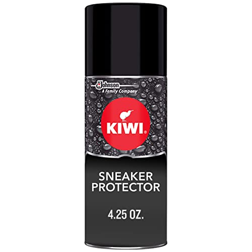 KIWI Sneaker Protector 4.25 oz - Stain repellent and waterproof spray for  shoes. For all 076e76bf3ed24