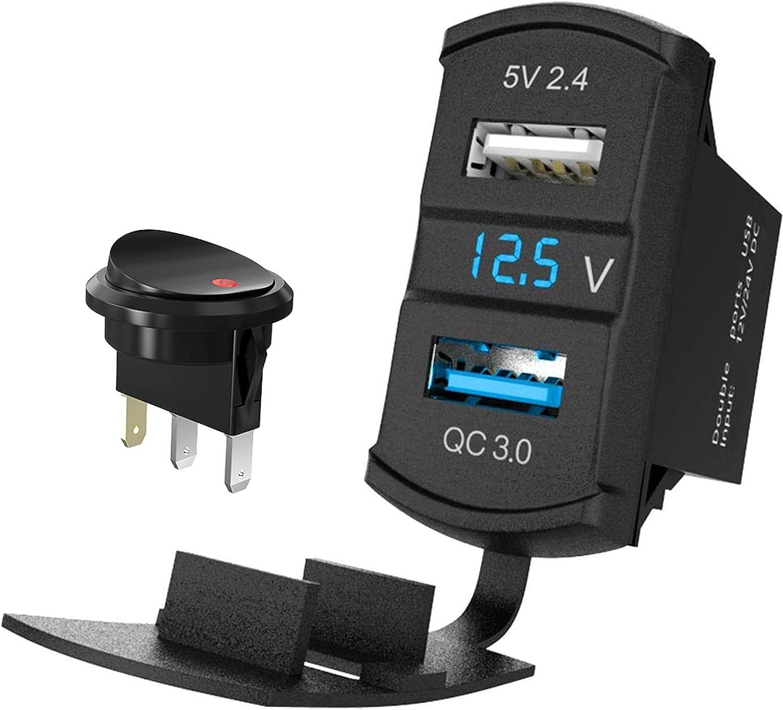 Usb Auto Steckdose Quick Charge 3 0 12v Elektronik