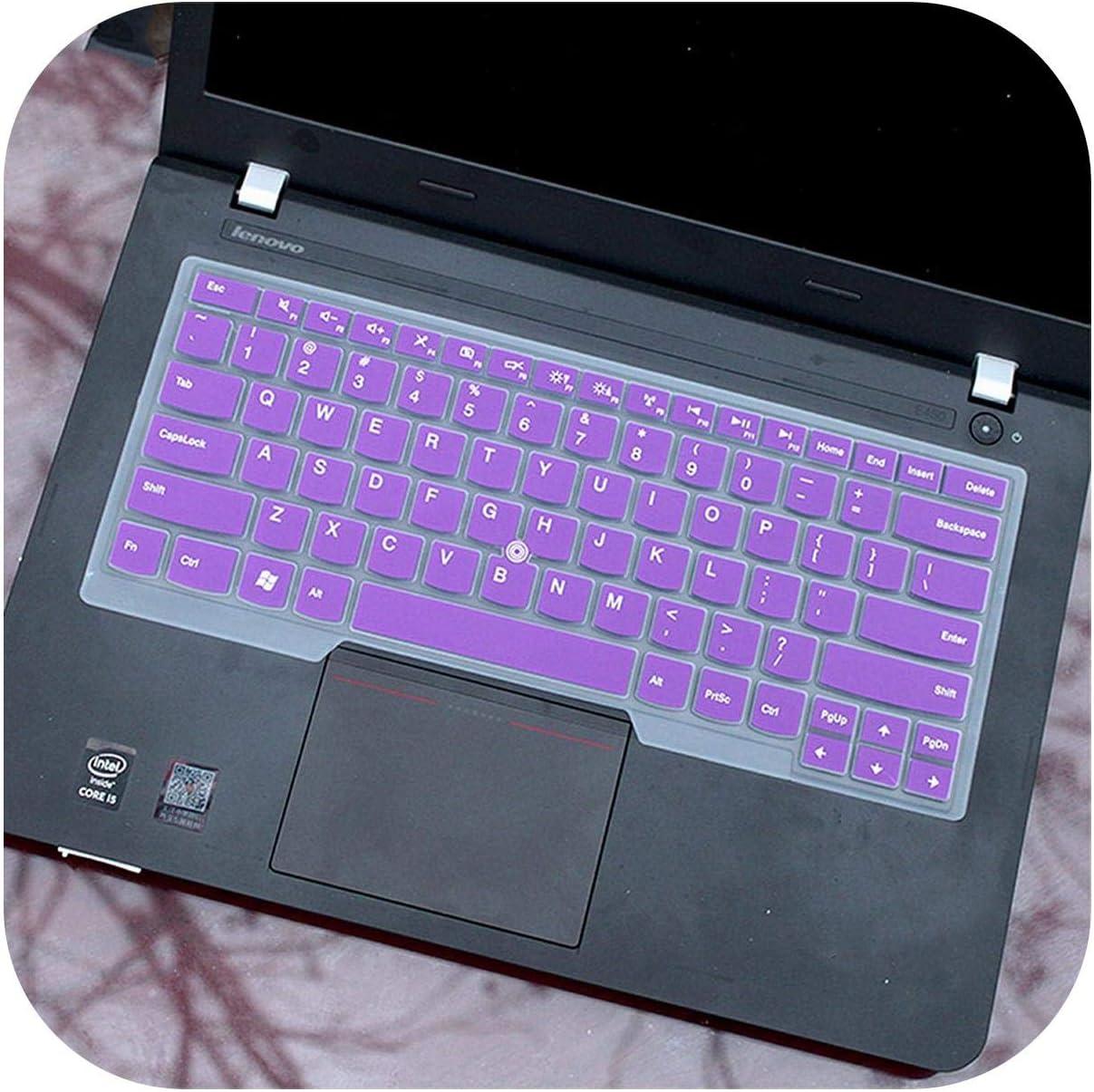 Housse de Protection pour Clavier dordinateur Portable Lenovo Thinkpad T490 T490S L390 L380 T480 T480S T470 T470S Yoga 2Rd//3Rd 2018//2017 X1 Carbon Taille Unique Claire