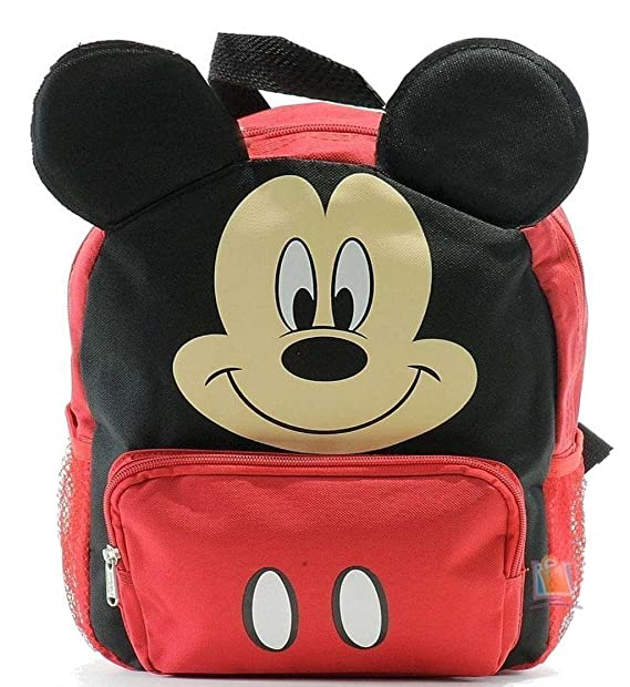 Image Unavailable. Image not available for. Color  Disney Mickey Mouse  Toddler 12 quot  Backpack 97314d8eba