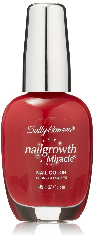 SALLY HANSEN NAIL GROWTH MIRACLE NAIL COLOR #330 STUNNING SCARLET Coty Beauty 112656