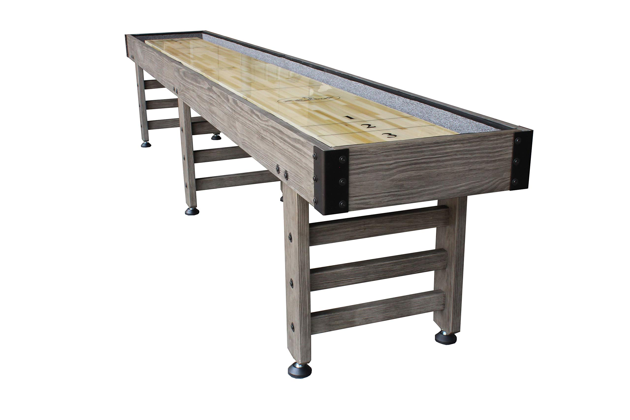 Playcraft Saybrook Smoke 12' Shuffleboard Table by Playcraft