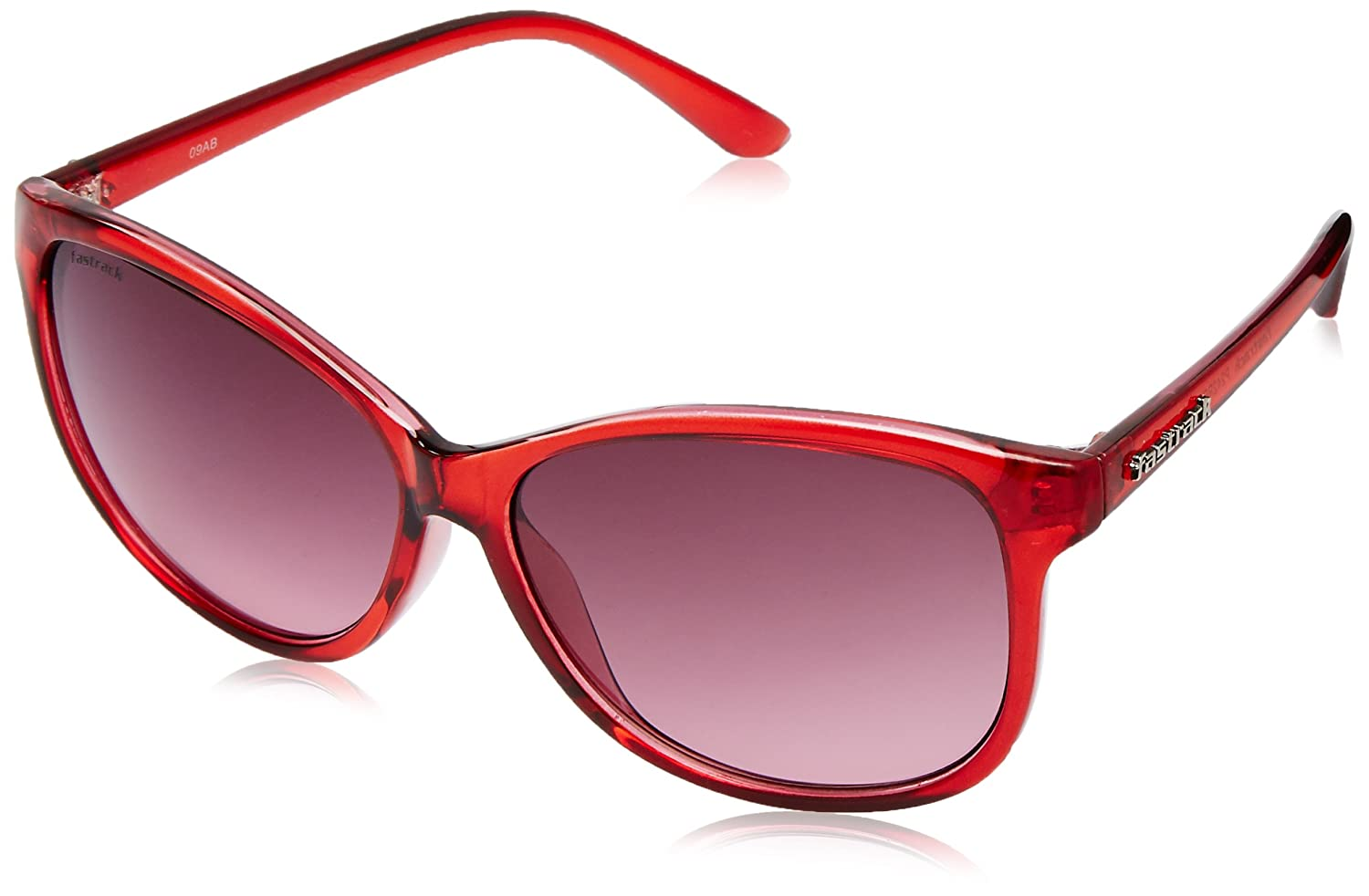 3653628285 Fastrack Women Cateye Sunglasses (Red) (P242RD2F)  Amazon.in  Clothing    Accessories