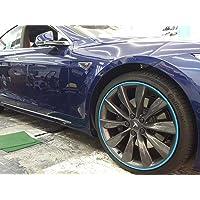 Roces by Rimblades Wheel Rim protectors-blue