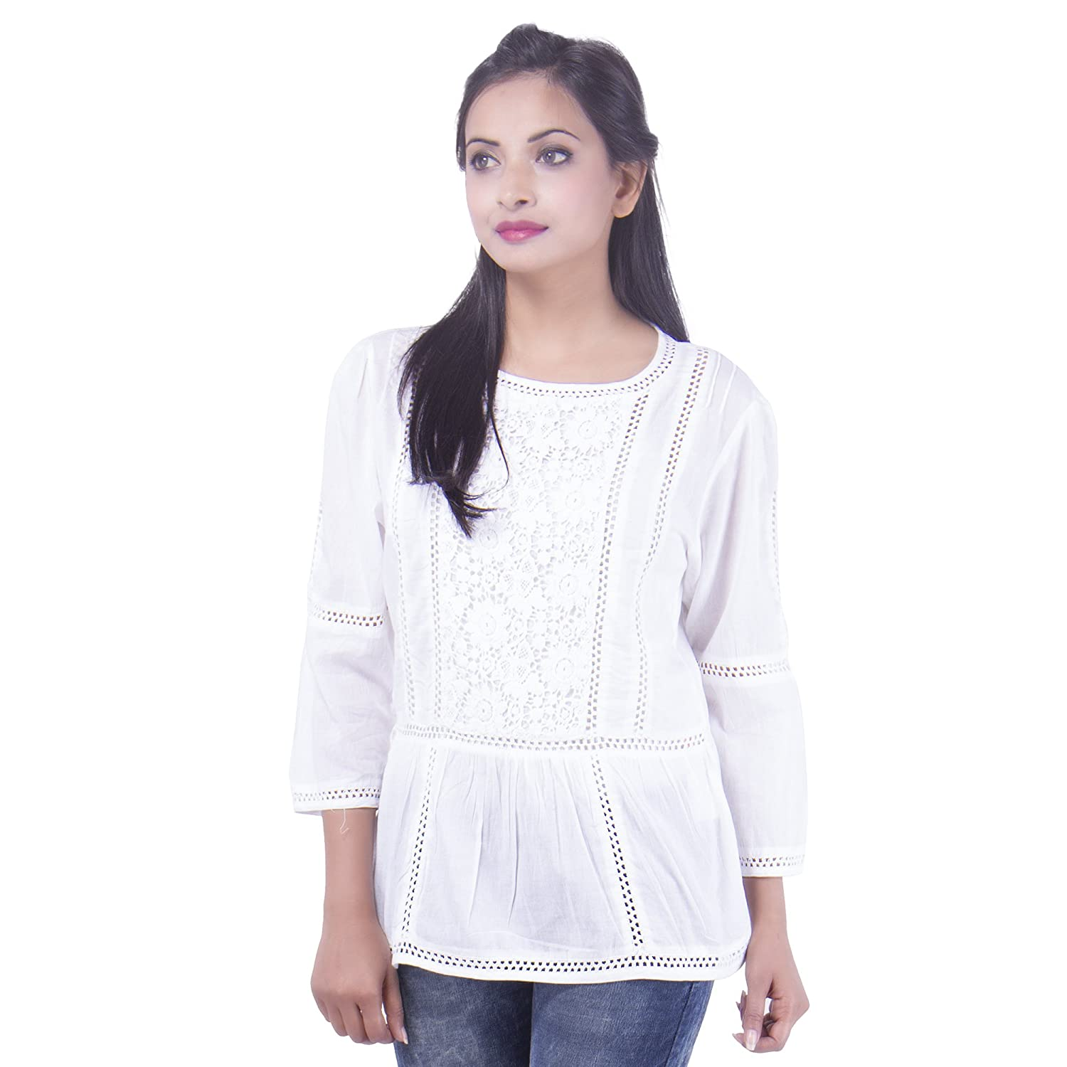 Goodwill impex womens casual wear white top s amazon clothing goodwill impex womens casual wear white top s amazon clothing accessories fandeluxe Gallery