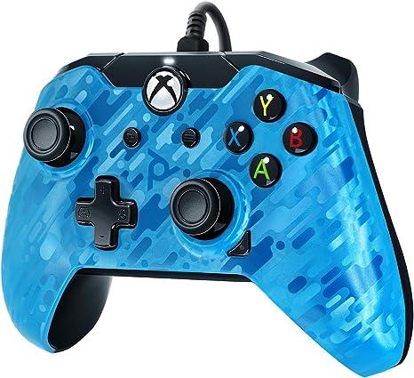 PDP - Mando Camuflaje Licenciado Nueva, Color Azul (Xbox One): Amazon.es: Videojuegos