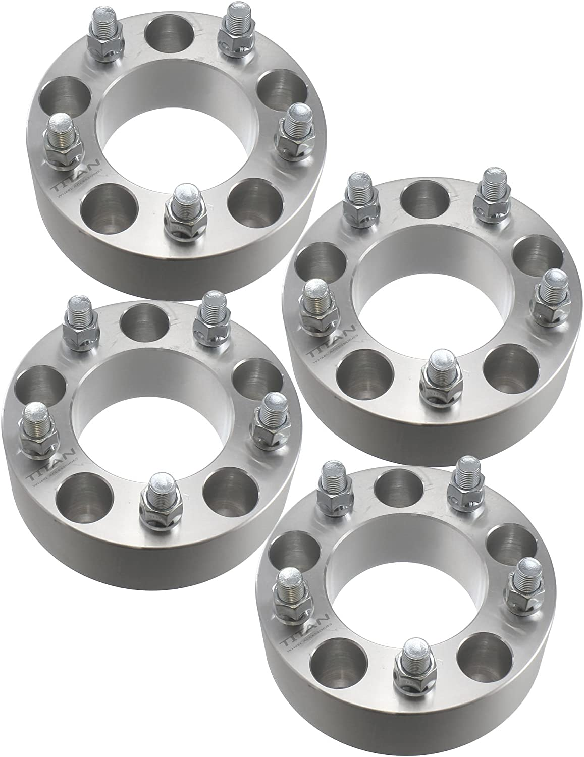 5x4.5 to 5x4.5 5x114.3mm with 1//2x20 Studs fit for 1991-2010 Ford Explorer 1994-2009 Mazda B4000 50mm cciyu 4PCS 50mm Wheel Spacers 2