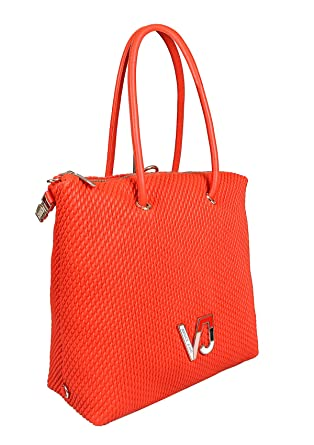 9500cdf01 Amazon.com: Versace EE1VTBBIA E500 Coral Tote Bag for Womens: Clothing
