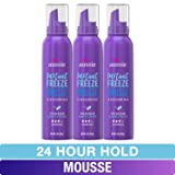 Aussie Mousse, with Jojoba & Sea Kelp, Instant Freeze, 24 Hour Hold, 6 fl oz, Triple Pack
