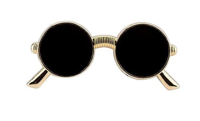 f63109fe89 Knighthood Round Mens Sunglasses(Blkretro-Sunglass