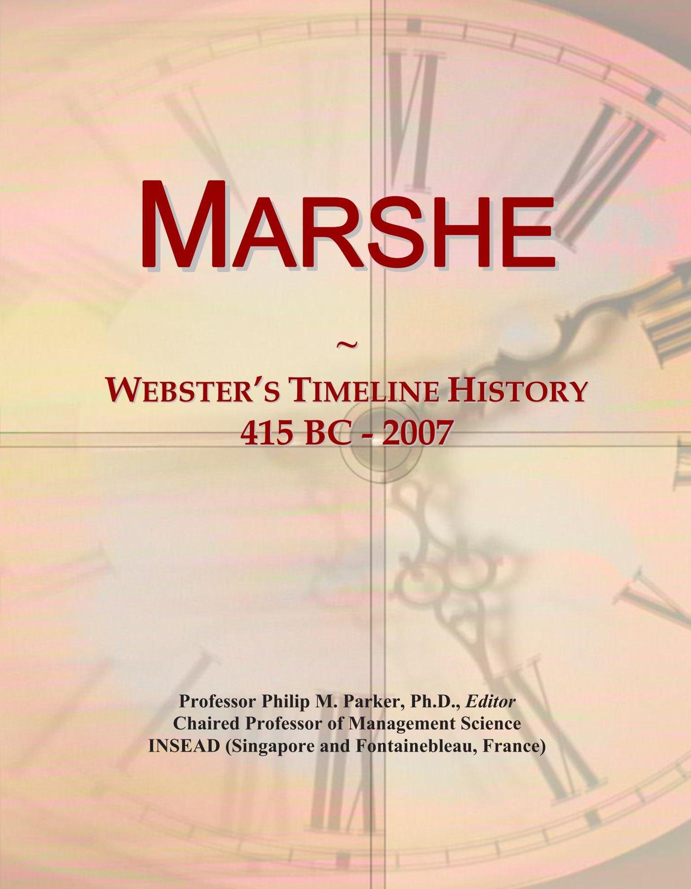 Download Marshe: Webster's Timeline History, 415 BC - 2007 pdf epub