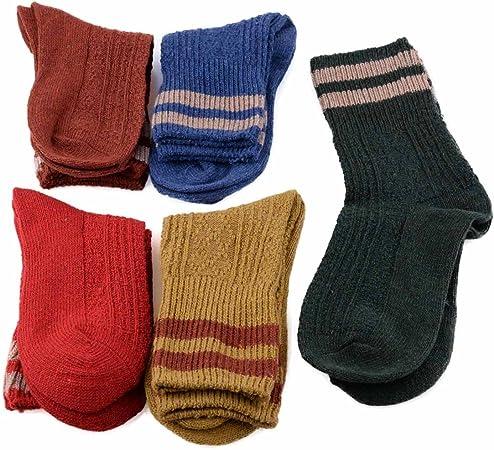 Fashion Warm Wool Cashmere Striped Design Socks