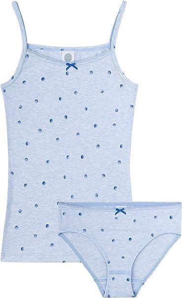 Sanetta Unterhemd Light Blue Intimo Bambina