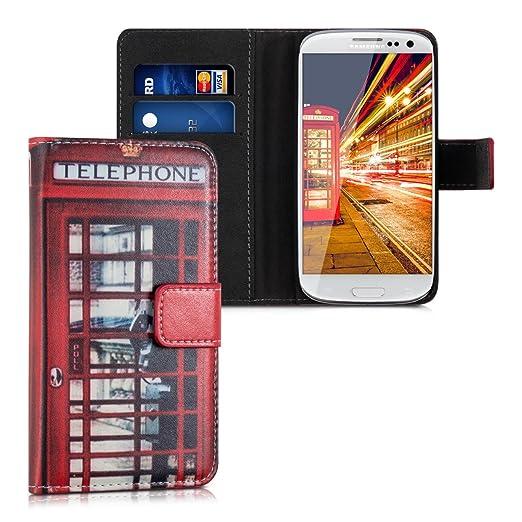 707 opinioni per kwmobile Custodia portafoglio per Samsung Galaxy S3 / S3 Neo- Cover a libro in
