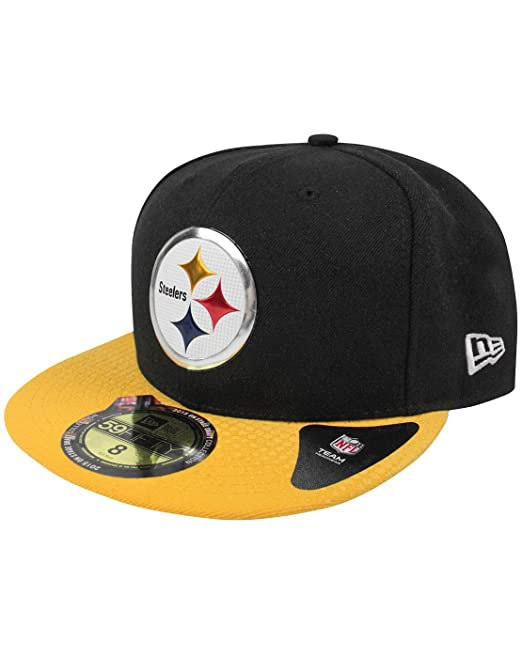 f097e47cdebee Unisex-Adultos - New Era - Pittsburgh Steelers - Gorra