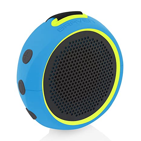 Braven 105 Wireless Portable Bluetooth Speaker [Waterproof][Outdoor][8 Hour  Playtime] with Action Mount/Stand - Energy