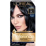 L'Oreal Paris Superior Preference Fade-Defying + Shine Permanent Hair Color, 2BL Black Sapphire, Pack of 1, Hair Dye