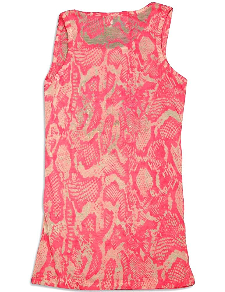 Big Girls Burnout Tank Top Purple Orchid