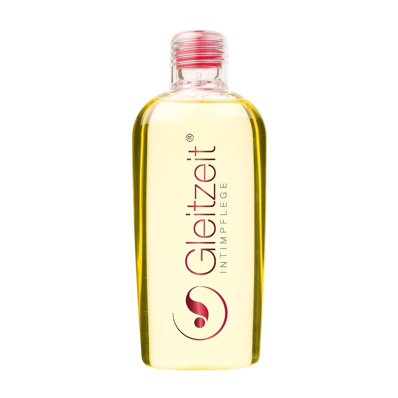 Aceite de ducha PREMIUM Gleitzeit de 200 ml específico para la limpieza higiénica diaria y el cuidado de la zona íntima; y para prevenir las infecciones por ...