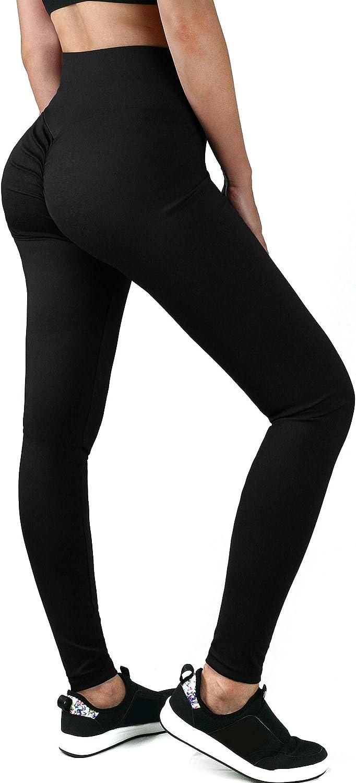 Amazon.com: HISMIS - Mallas de yoga para mujer, cintura alta ...