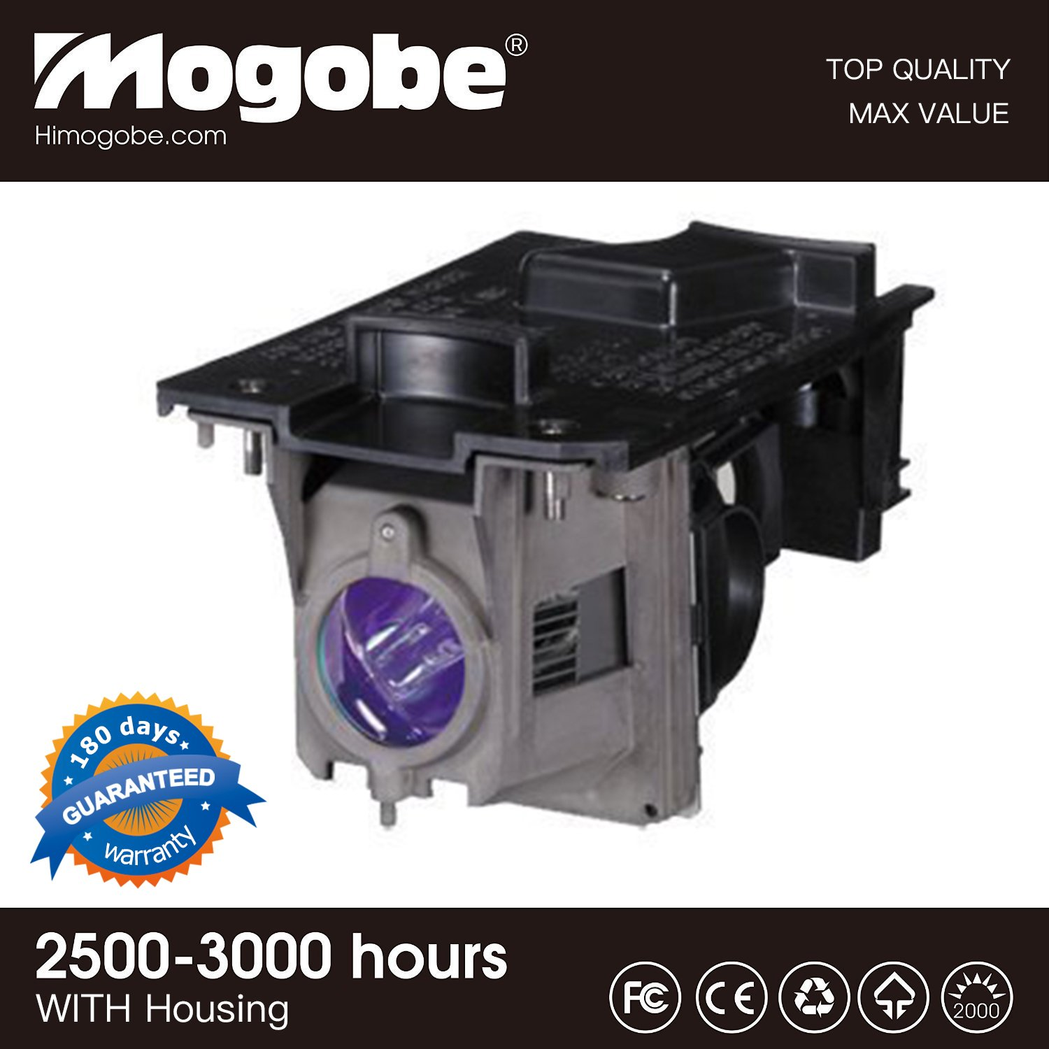For NP30LP Replacement Projector Lamp with Housing For NEC M322H M332XS M352WS M353WS M402W M402X M403H M403W M403X NP-M403H M402H by Mogobe NP30LP-CH22ZG