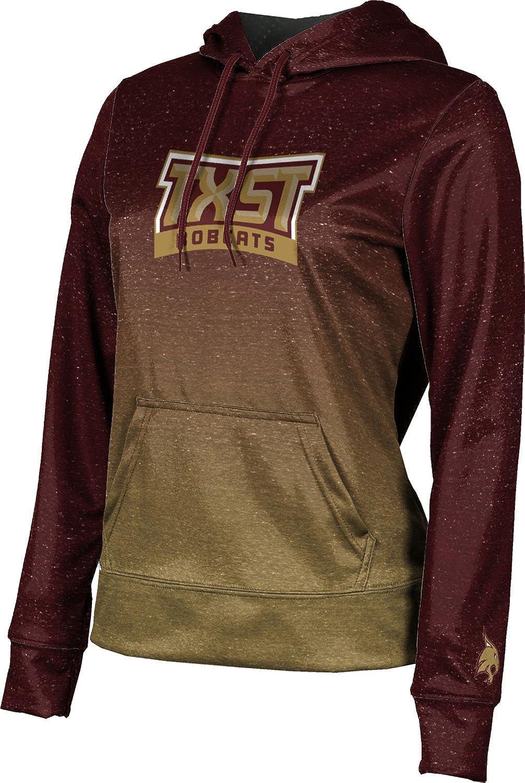 ProSphere Texas State University Womens Pullover Hoodie Gradient School Spirit Sweatshirt