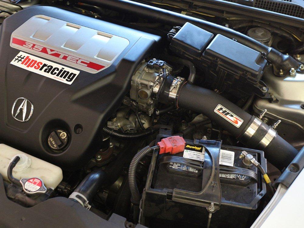 Cool, CAI HPS 37-275P Polish Long Ram Cold Air Intake Kit Non-Carb Compliant
