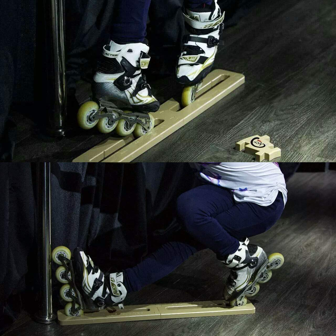 Cupidove Inline Skate Trainer -Stretching Leg Ligament Strengthen Muscle Memory,Help to Master Difficult Skills Quickly by Cupidove (Image #4)