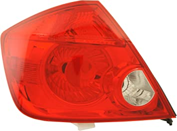 Genuine Toyota Parts 81561-35120 Driver Side Taillight Lens//Housing
