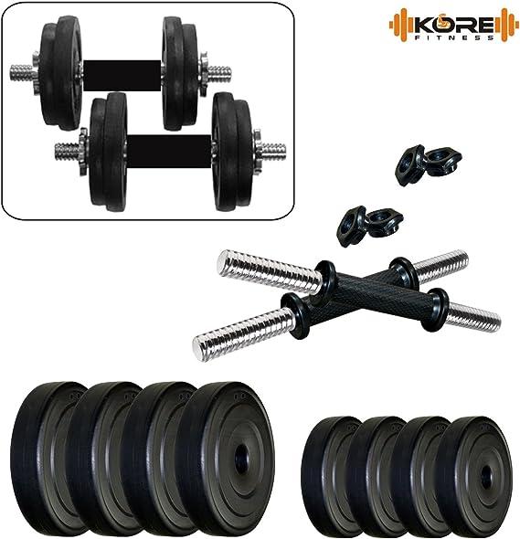 Kore PVC DM COMBO16 Home Gym Dumbbells Kit Exercise Sets