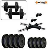 Kore PVC-DM COMBO16 Home Gym Dumbbells Kit-Best-Popular-Product