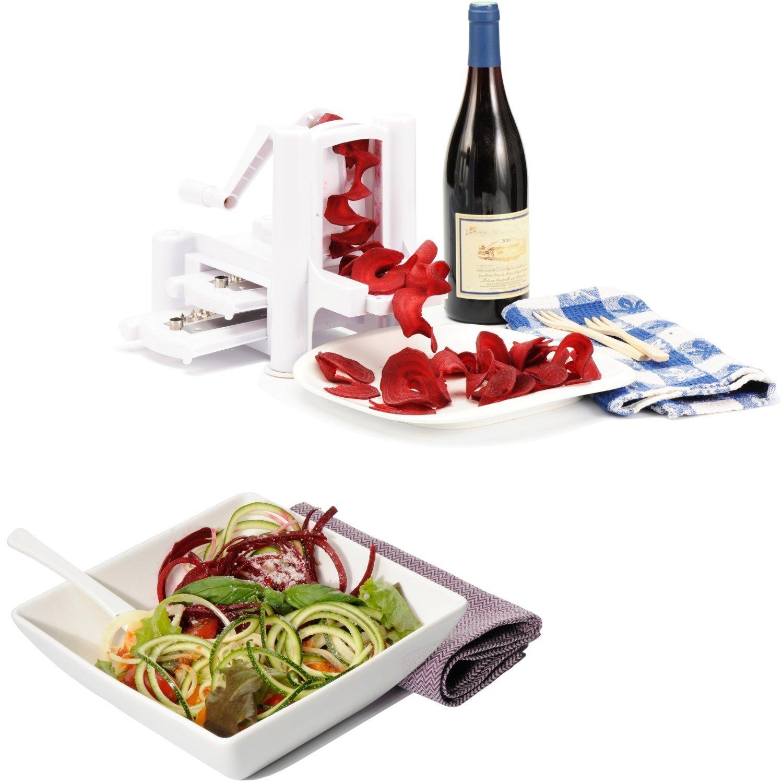 Galleon wonderveg veggie spiralizer vegetable slicer for Kitchen set toys r us philippines