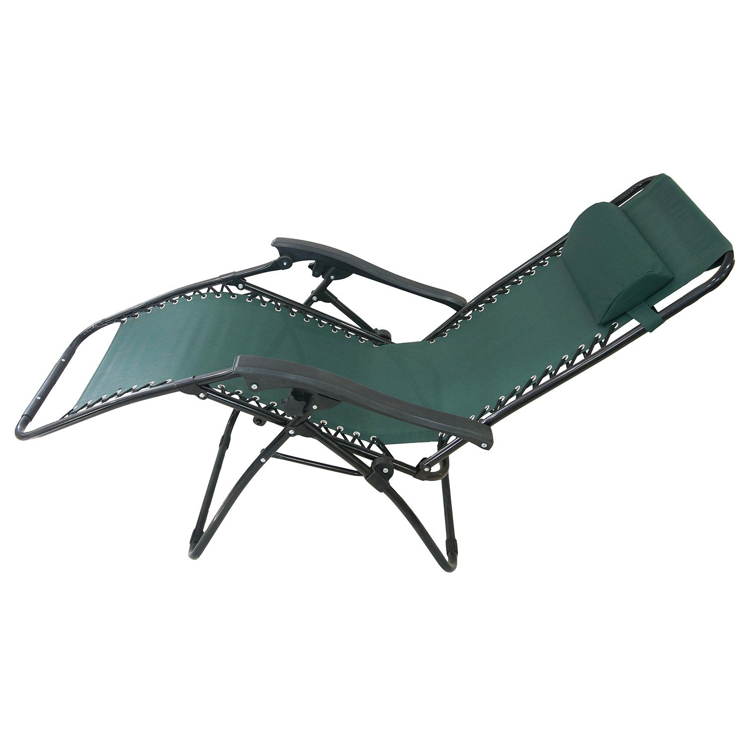 Todeco Chaise Longue Inclinable Transat en Textil¨ne de Jardin