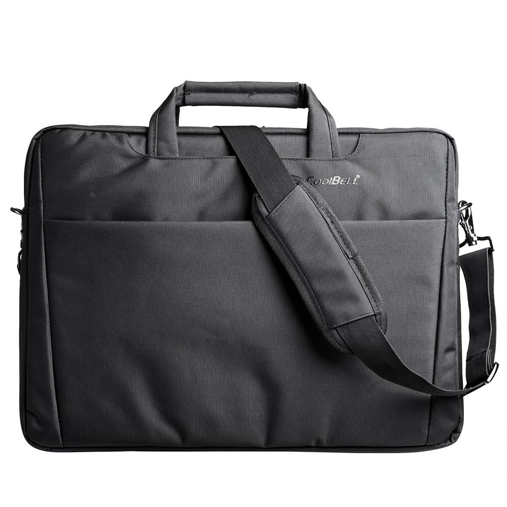 CoolBELL 17.3 Laptop Bag Notebook Carrying Case Shoulder Bubble Foam Padded Briefcase