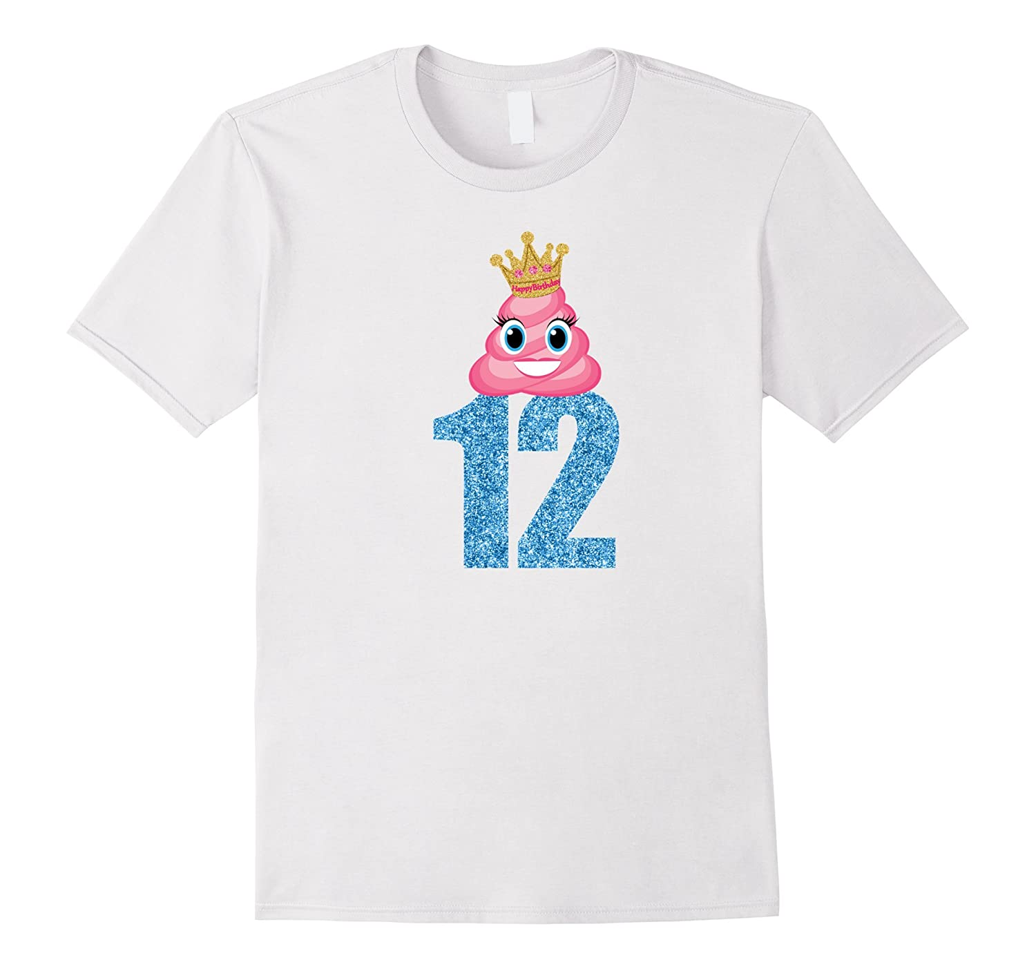 Birthday Shirt For Girls 12 Kids Gift-CD