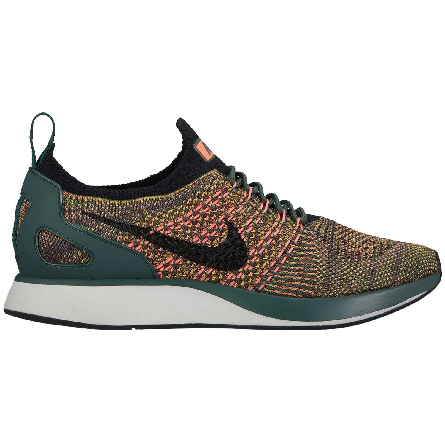 NIKE Womens Air Zoom Mariah Flyknit Racer Running Trainers Aa0521 Sneakers Shoes B07C46YPHJ 6 B(M) US|Vintage Green/Black-Summit White