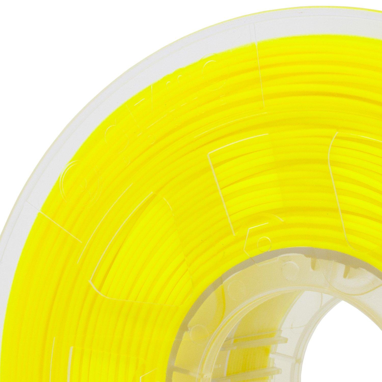 2.2lb for 3D Printers UV Light Gizmo Dorks 1.75mm ABS Filament 1kg Fluorescent Yellow