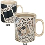 ABYstyle - ONE PIECE - taza effecto termico - 460 ml - Wanted
