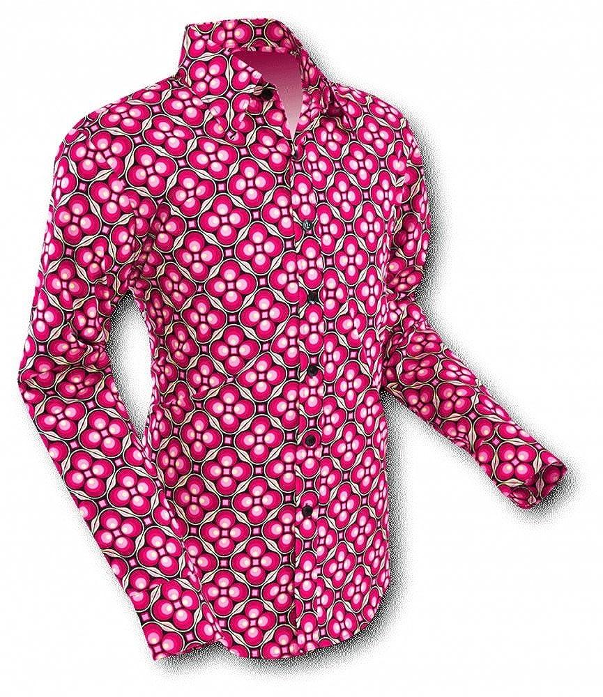 Vintage Shirts – Mens – Retro Shirts 70s retro Shirt Dotsgrid Black-Red 70s Retro £38.54 AT vintagedancer.com