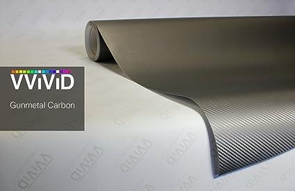 Gunmetal Grey Gloss XPO car vehicle vinyl wrap film 10ft x 5ft VViViD cast decal