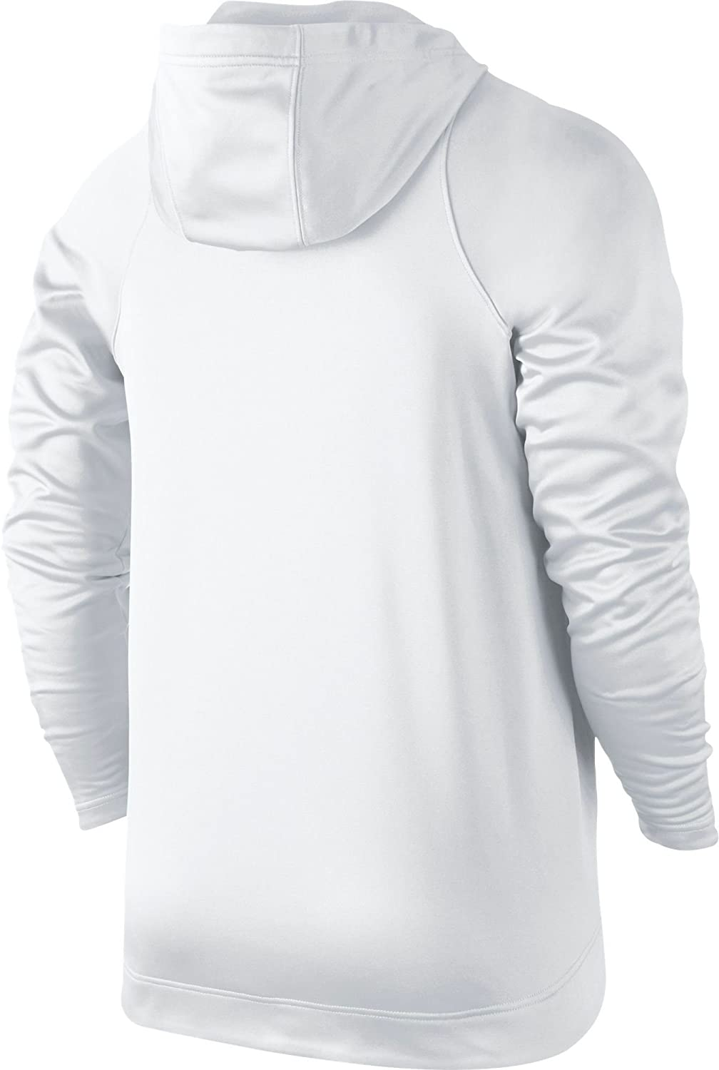 0f8b75109e2c Amazon.com  Nike Mens Therma Elite Pullover Basketball Hoodie White Wolf  Grey 776097-100 Size 2X-Large  Sports   Outdoors