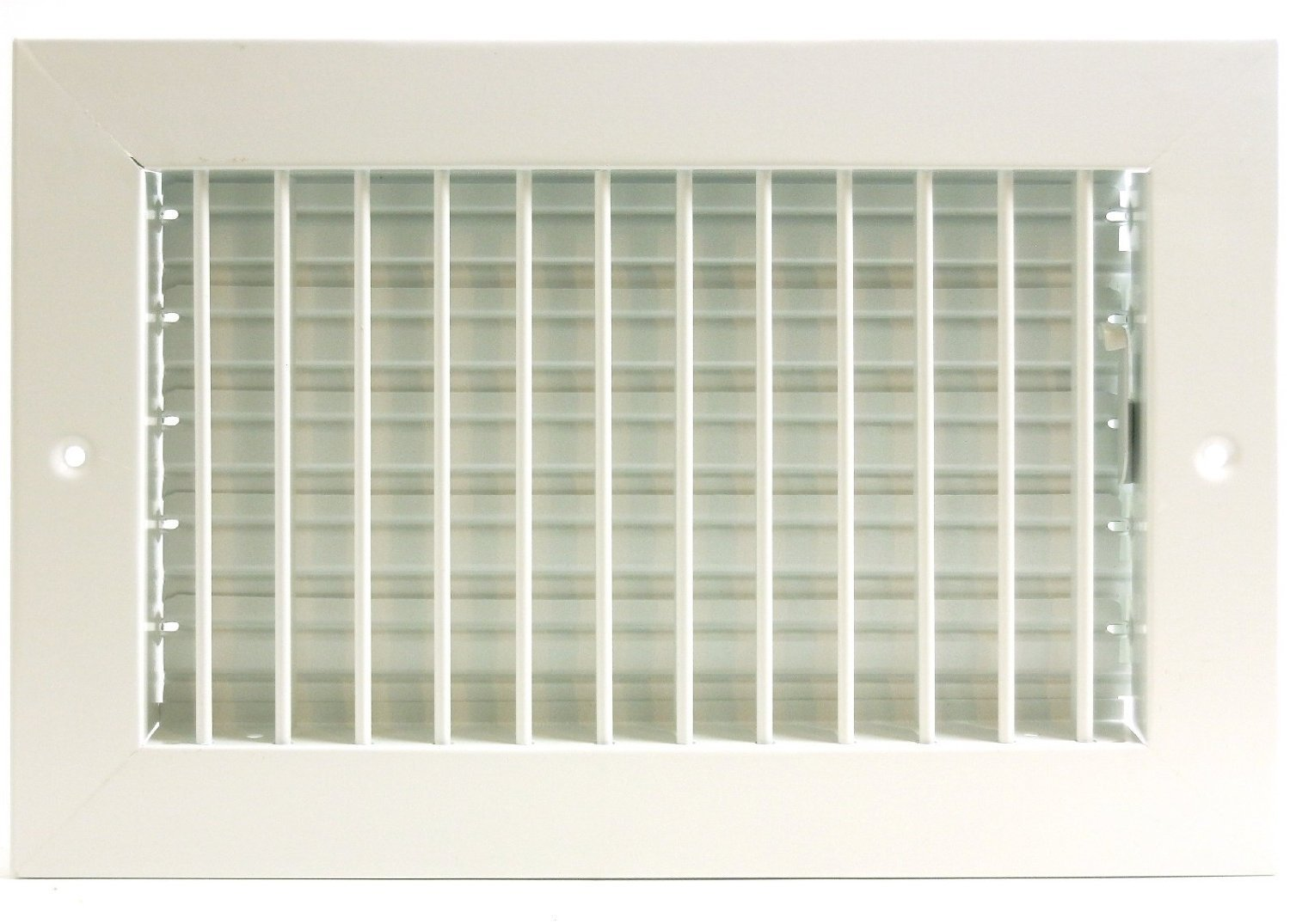 10'' x 8'' ADJUSTABLE DIFFUSER - Vent Duct Cover - Grille Register - Sidewall or Cieling - High Airflow