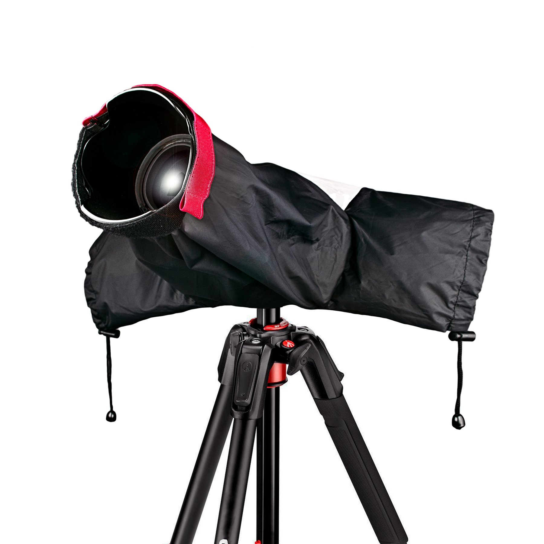 Professional Rain Cover Camera Protector for Canon Nikon Pentax and other DSLR Cameras - Great for Rain Dirt Sand Snow Protection by ANTVEE