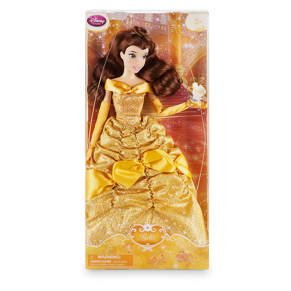 Amazon DISNEY STORE BELLE 12 CLASSIC DOLL WITH CHIP Toys Games