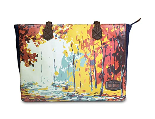 Shoulder Tote Bag with a Laptop Case